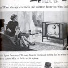 1959     Zenith Space Command Remote Control Television  ad (# 4450)
