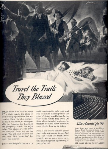April 7, 1941   Association of American Railroads    ad  (#3742)