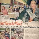 1948 New York Central Dining Car ad (#30)