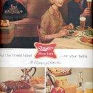 1960  Miller High Life Bottle beer  ad (# 4527)