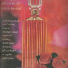 1961  The Olympian decanter by Four Roses Whiskey ad (#4040)
