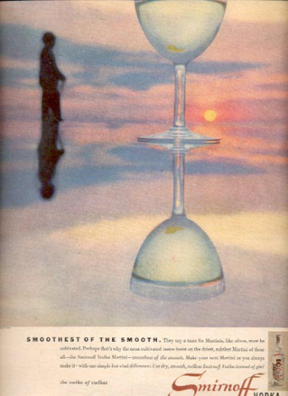 1957  Smirnoff Vodka  ad (# 4645)