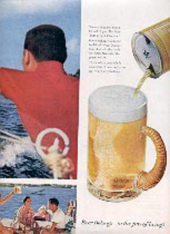 1959 Beer Belongs... ad (# 3142)
