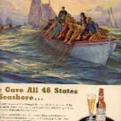1948  Budweiser Beer ad (# 3110)