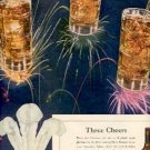 1946  Three Feathers Reserve Blended Whiskey ad (#2474)