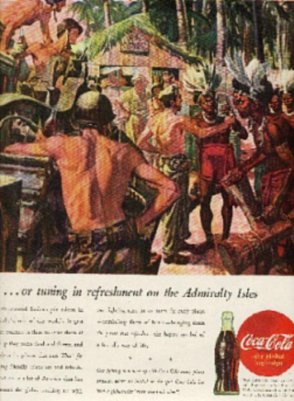 1945 Coca- Cola   magazine   ad ( # 424)