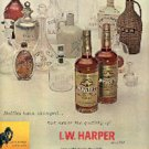 1962   I. W. Harper Bourbon ad (  # 2073)