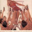 1963  Coca- Cola ad (   # 2501)