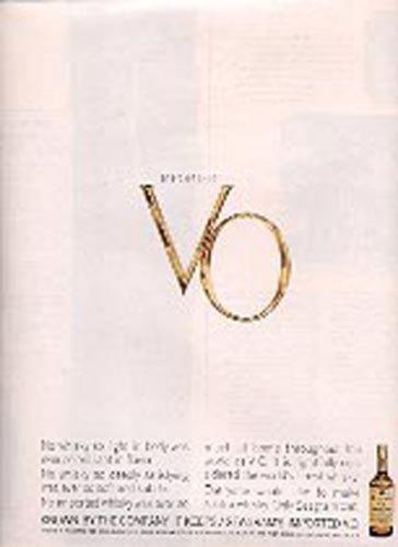 1963  Seagram's Imported V.O. ad (#  1375)