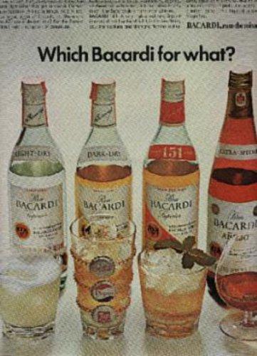 1970  Bacardi ad ( # 930)