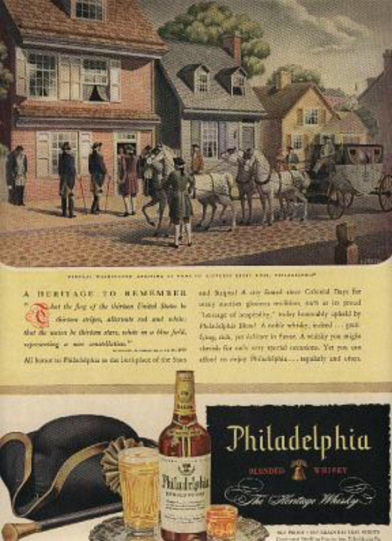 1946 Philadelphia  Blended Whiskey ad (# 771)