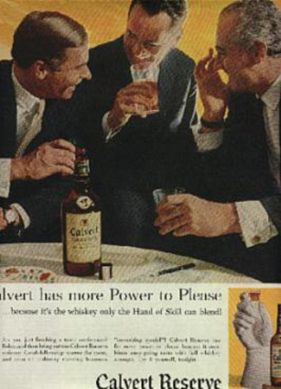 1959 Calvert Reserve Blended Whiskey ad(# 766)