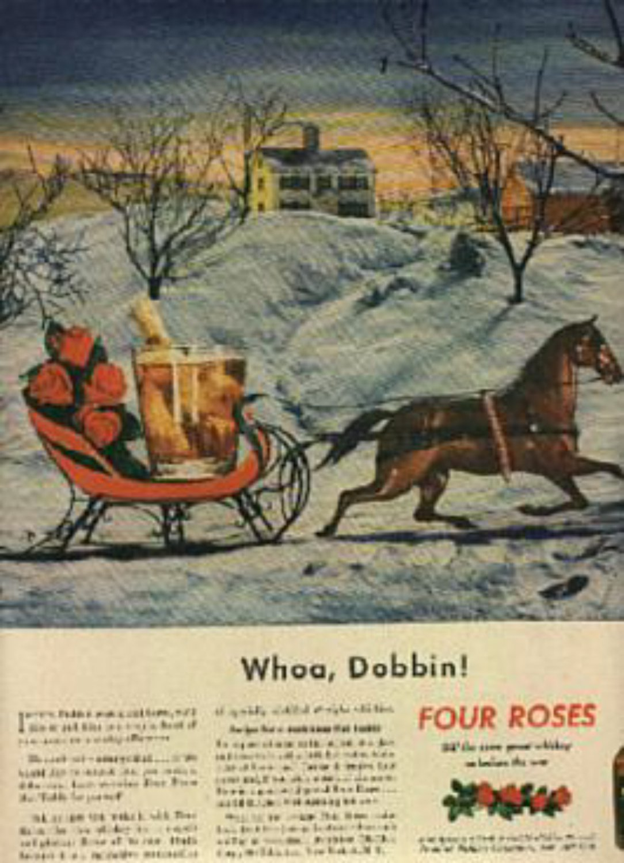 1946 Four Roses Whiskey   magazine    ad (# 768)