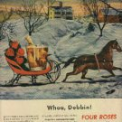 1946 Four Roses Whiskey  ad (# 768)