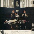 "1962  ""Black & White"" Scotch ad (  # 646)"
