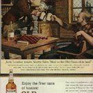 1963  Old Crow  whiskey ad  (  # 469)