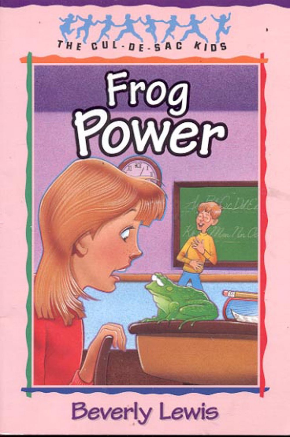 Frog Power by Beverly Lewis- pb