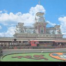 Walt Disney World- Steam Railroad-  Postcard- (# 75)