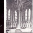 Chapter House Interior Lincoln Cathedral Postcard- (# 120_)