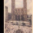 Notre Dame Church, Montreal, Canada-  Postcard- (# 100)