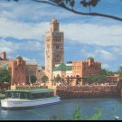The Kingdom of Morocco-   Walt Disney World-  Postcard- (# 98)