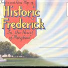 Historic Frederick, Maryland-  Postcard Booklet- (# 108)