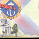 Annapolis, Maryland-  Postcard Booklet- (# 107)