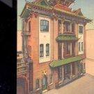 Kong Chow Temple, Chinatown, San Francisco, California  Postcard- (#2)
