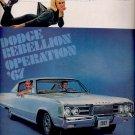 Nov. 5, 1966 -67 Dodge Polara       ad (# 2666)