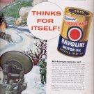 March 6, 1956  Texaco Havoline Motor Oil      ad (# 4478)