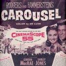 March 6, 1956  Carousel movie with Gordon MacRae , Shirley Jones    ad (# 4592)