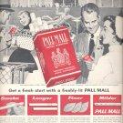 March 6, 1956  Pall Mall Cigarettes    ad (# 1603)