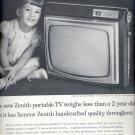 Feb. 12, 1963  Zenith portable TV    ad (#3455 )