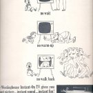 Jan. 24, 1964    Westinghouse Instant-On TV      ad  (# 3503 )