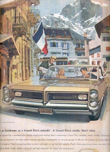 Jan. 24, 1964      Grand Prix Pontiac    ad  (# 3505 )