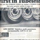 Sept. 12, 1955   B.F. Goodrich Tubeless Tires     ad (# 3533 )