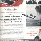 Sept. 12, 1955   Champion Sprak Plugs    ad (# 3534 )