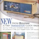 May 11, 1962   Bulova Clock Radio    ad (#3605)