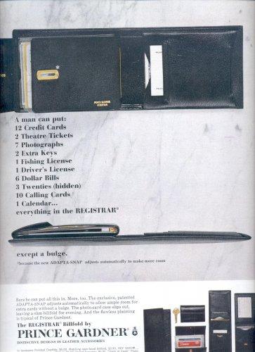 Dec. 3, 1965 Registrar Billfold by Prince Gardner       ad  (# 3685 )