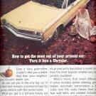 Dec. 3, 1965 -    Chrysler Newport      ad  (# 3700 )