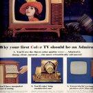Dec. 3, 1965 -    Admiral color TV   ad  (# 3709 )