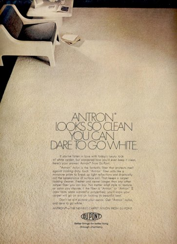 Oct. 1969   Du Pont antron    ad (# 3823)