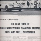 June 19, 1964    Shell Motor Oil and Gasoline -   ad (# 3868)