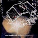 Dec. 13, 1968  Olivetti Underwood Typewriter      ad (# 5960)