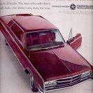Oct. 16, 1964- 1965   Chrysler 300- 4door hardtop    ad (# 3323)