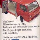 Oct. 16, 1964   GMC Handi- Van     ad (# 3332)