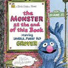 The Monster at the end of this book-  - a little Golden book- hb