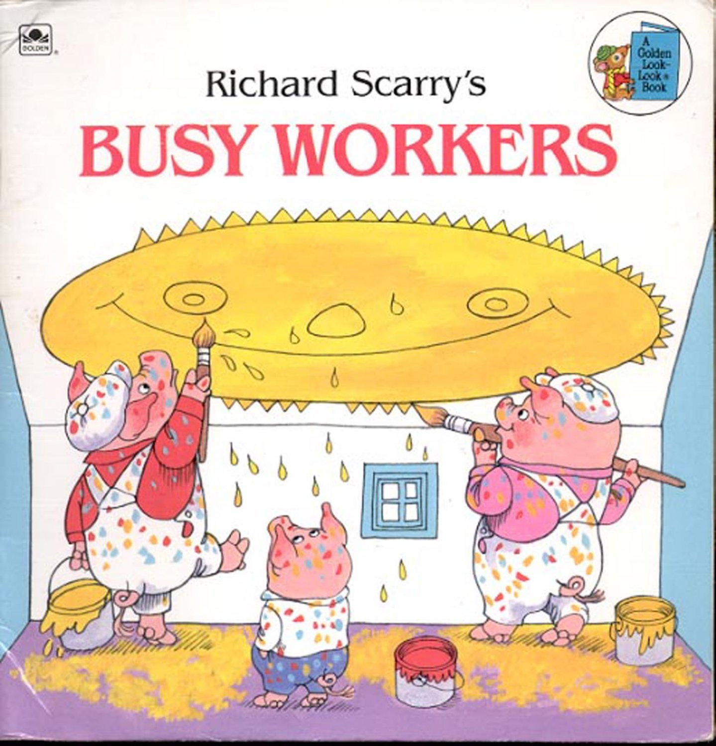 Richard Scarry's Busy Workers- softcover