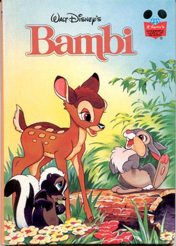 Walt Disney S Bambi Grolier Book Club Edition Hb