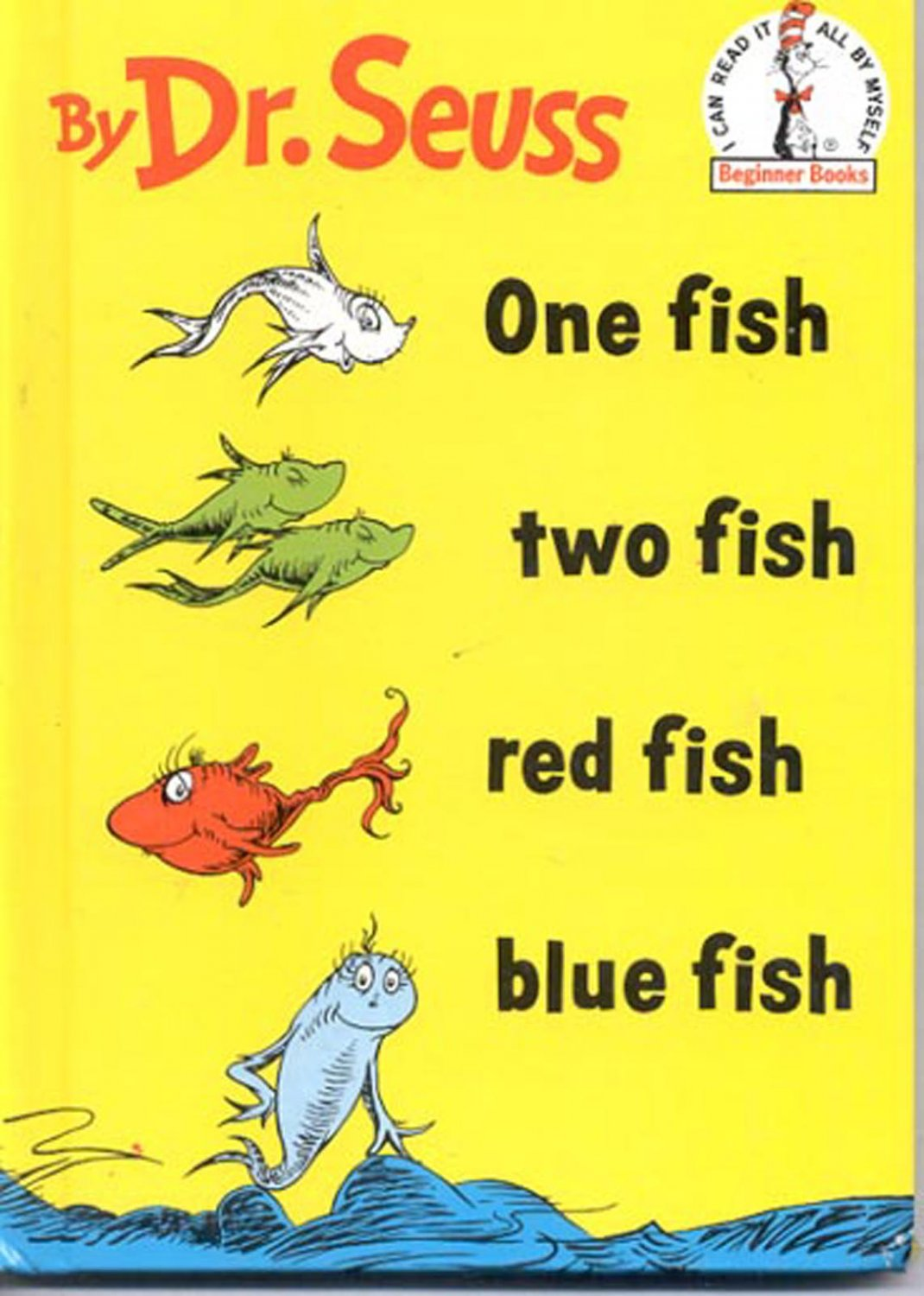 One fish two fish red fish blue fish by dr seuss hb for Red fish blue fish dr seuss